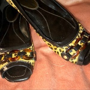 Bandolino Shoes - Bandolino Pony Hair Cheetah Print Flats